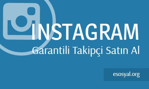 Instagram Garantili Takipçi Satın Al