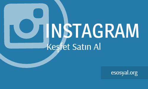 instagram keşfet satın al