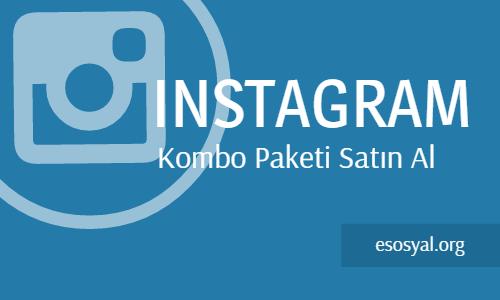 instagram kombo satın al