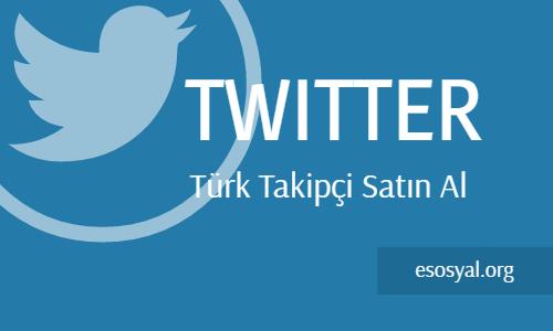 twitter türk takipçi satın al